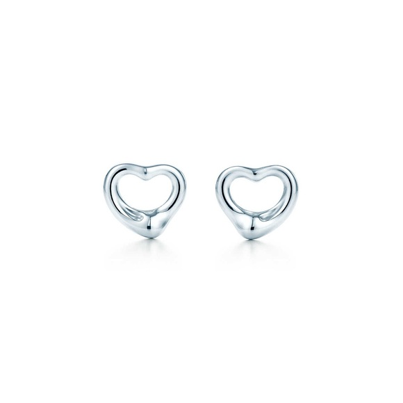 1b7368279 Tiffany & Co. Jewelry | Tiffany Co Elsa Peretti Open Heart Earrings ...